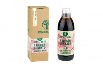 Sok z owoców granatu, 500 ml, bez cukru i konserwantów, naturalny, Joshuatree