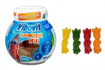 Vibovit Kosmiczne Żelki z witaminami dla dzieci od 4. lat, 50 sztuk, Teva