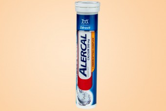 Zdrovit Alercal Calcium i Kwercetyna, 20 tabletek musujących na alergię