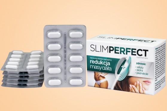 SlimPerfect na odchudzanie i na włosy, skórę oraz paznokcie, 60 tabletek