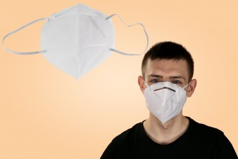 Maska ochronna z filtrem FFP2, 1 sztuka