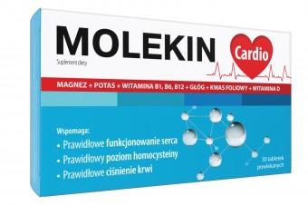 Molekin Cardio, 30 tabletek, suplement diety wspomagający serce i układ krążenia