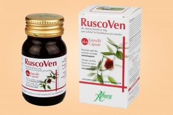 Ruscoven Plus, kapsułki wspierające mikrokrążenie, 50 sztuk, Aboca