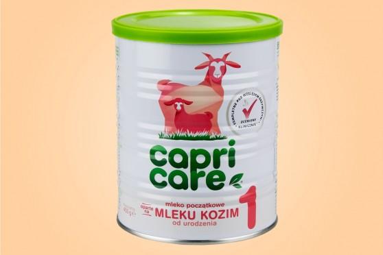 Capricare 3, mleko następne dla dzieci powyżej 12. miesiąca życia, z mleka koziego, 400g