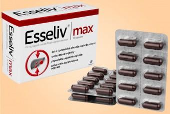 Esseliv Max, 30 kapsułek, lek na wątrobę bez recepty