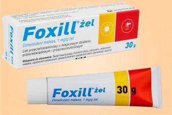 Foxill, żel po ukąszeniach, 30 g