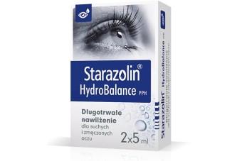 Starazolin HydroBalance PPH, 2 x 5 ml (10 ml), krople do oczu