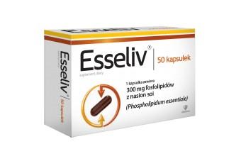 Esseliv, 50 kapsułek, na zdrową wątrobę