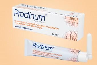 Proctinum, emulsja doodbytnicza, 30 ml, na hemoroidy