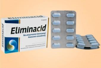 Eliminacid, tabletki na zakwaszenie organizmu, 30 tabletek