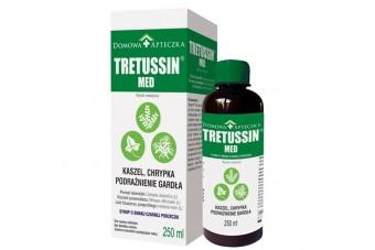 TRETUSSIN MED, syrop na gardło, kaszel i chrypkę, 250 ml