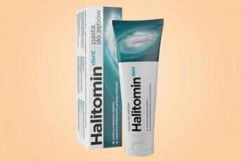Halitomin Dent, pasta do zębów na nieświeży oddech, 75 ml, pasta na halitozę