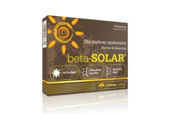 Olimp Beta-Solar, 30 kapsułek, tabletki na opalanie, beta karoten