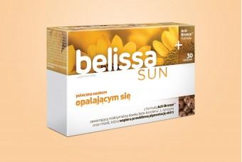 Belissa Sun, na opalanie, 60 tabletek