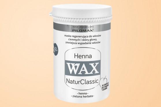 WAX Henna NaturClassic, Maska WŁOSY CIEMNE, 480 ml