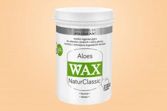 WAX Aloes maska, duże opakowanie, 480 ml, włosy cienkie, maska na wypadanie włosów
