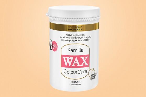 WAX Kamilla, Maska, włosy suche i zniszczone, jasne farbowane, 480 ml