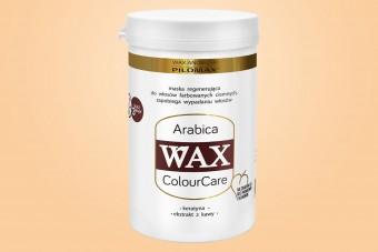 WAX Arabica, Maska, włosy suche i zniszczone, ciemne farbowane, 480 ml