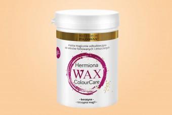 WAX Hermiona, Maska odbudowująca, włosy farbowane i zniszczone, 240 ml