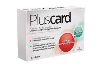 Pluscard, 100 mg, 30 tabletek, profilaktyka zawału serca