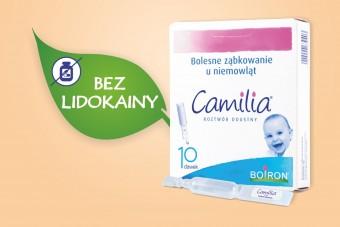 Camilia, lek na ząbkowanie u niemowląt, 10 dawek