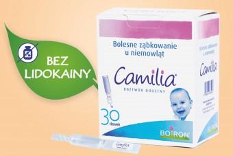 Camilia, lek homeopatyczny na ząbkowanie, 30 sztuk