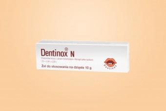 Dentinox N, żel na bolesne ząbkowanie, 10 g, dla dzieci od 3. miesiąca
