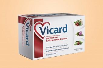 Vicard, na serce, 180 tabletek