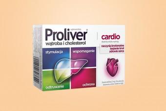 Proliver Cardio tabletki na wątrobę, proliwer cardio