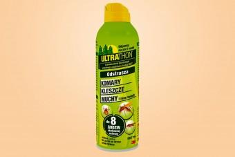 Ultrathon, DEET 25%, spray, środek na komary i kleszcze, 177 ml