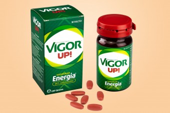 Vigor Up, energia, 30 tabletek, witaminy Vigor, kofeina, guarana, producent USP