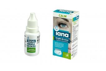Krople na podrażnienie oczu Iana Calm, 10 ml