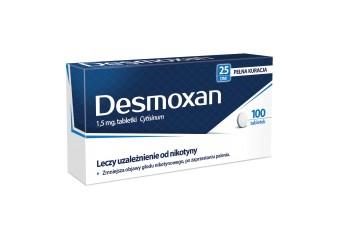 Desmoxan, lek na rzucenie palenia z cytyzyną, 100 tabletek