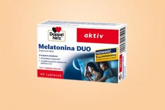 Doppelherz aktiv Melatonina DUO, na sen, 40 tabletek