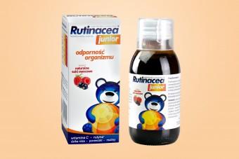 Rutinacea Junior, syrop wzmacniający odporność u dzieci, 100 ml