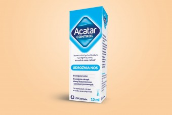 Acatar Control, spray na katar, 15 ml, oksymetazolina