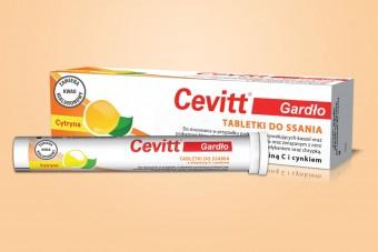 Cevitt Gardło, pastylki na chrypkę, 20 tabletek na podrażnione gardło