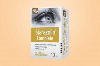 Starazolin Complete, krople nawilżające do oczu bez konserwantów, 10 ml