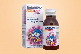 Rutinacea Junior Plus, syrop na apetyt dla dzieci i odporność