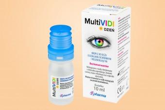 MultiVIDI, krople do nawilżania oczu, 10 ml, krople na zespół suchego oka