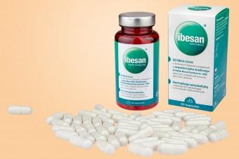 Ibesan, 60 kapsułek, na IBS, naturalny preparat na ibs