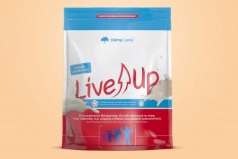 LiveUp, białko z kreatyną, 280g, Olimp, smak waniliowy