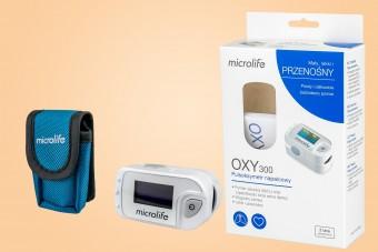 Pulsoksymetr Microlife OXY 300, na palec, 1 sztuka, urządzenie do pomiaru saturacji