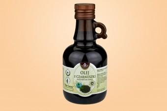 Olej z Czarnuszki tłoczony na zimno, 250 ml, Oleofarm, na infekcje, na odporność, na owsiki u dzieci