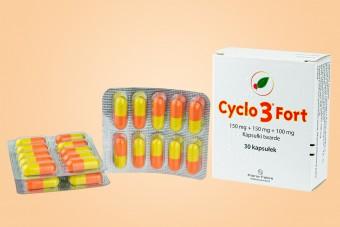 Cyclo 3 Fort, lek na żylaki i hemoroidy, 30 kapsułek