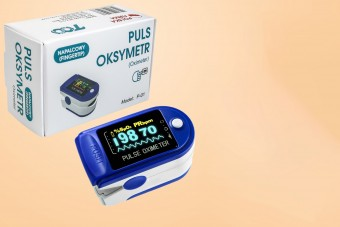 Pulsoksymetr napalcowy Pulse Oximeter, 1 szt.