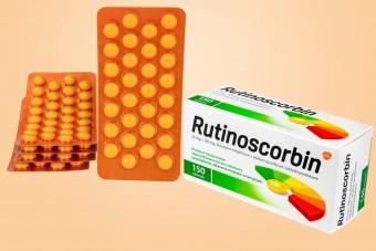 Rutinoscorbin, największe opakowanie, 150 tabletek, witamina C z rutyną