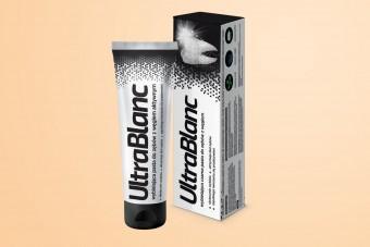 UltraBlanc, czarna pasta do zębów z węglem, wybielająca, 75 ml