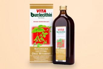 Vita Buerlecithin, tonik wzmacniający, 1000 ml, buerlecitin vita