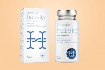 Hairvity, na włosy, 60 kapsułek - kuracja na miesiąc. Na włosy, na paznokcie, na skórę